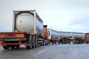 Two Tank Trucks Haul Flammable Goods