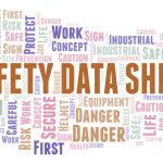 Safety Data Sheet Word Cloud