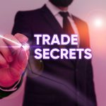 Text Sign Showing Trade Secrets