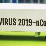 Trailer With The Words Coronavirus