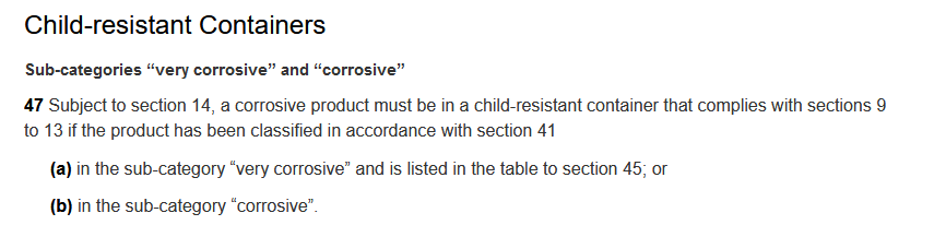 child-resistant containers